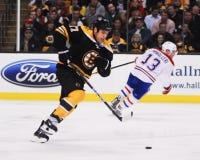 Milan Lucic, Boston Bruins forward. Royalty Free Stock Image