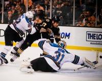 Milan Lucic, Boston Bruins para a frente Fotografia de Stock Royalty Free