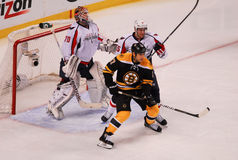 Milan Lucic, voorwaartse Boston Bruins Royalty-vrije Stock Foto