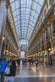 Milan Luxuous shopping mall Royalty Free Stock Image