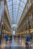 Milan Luxuous shopping mall Royalty Free Stock Photography