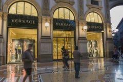 Milan Luxuous shopping mall Royalty Free Stock Photo