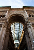 Milan - Luxury Gallery Royalty Free Stock Photography