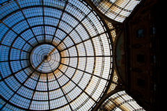 Milan - Luxury Gallery Stock Images