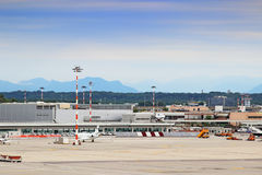 Milan Malpensa Airport Stock Photo