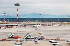 Milan Malpensa Airport Royalty Free Stock Photography