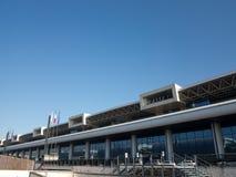 Milan Malpensa airport. Milano Malpensa airport (MXP) in Milan, Italy Royalty Free Stock Image