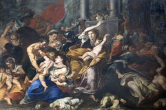 Milan - Massacre of the Innocents Stock Image