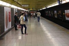 Milan metro Royalty Free Stock Photos