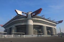 Milan MI, Italien - December 9, 2016: Italiensk fotbollsarena ca Royaltyfri Bild