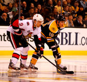 Milan Michalak and Tyler Seguin NHL Hockey Royalty Free Stock Photo