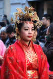 Milan, Milan, nouveau year'eve chinois Photos stock