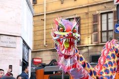 Milan, Milan, nouveau year'eve chinois Photographie stock libre de droits