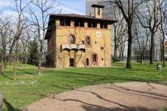 Milan,milano bicocca degli arcimboldi and pirelli worldwide headquarter Royalty Free Stock Photo
