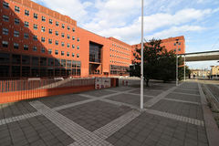 Milan,milano bicocca university Royalty Free Stock Photo