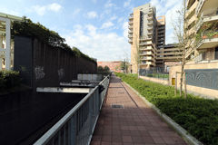 Milan,milano bicocca university Stock Photography