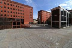Milan,milano bicocca university Stock Photo