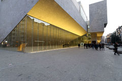 Milan milano, Bocconi universitet Royaltyfri Fotografi