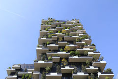 Milan,milano bosco verticale Royalty Free Stock Photos