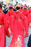 Milan,milano,chinese new year'eve Royalty Free Stock Images
