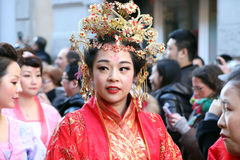Milan,milano,chinese new year'eve Stock Image
