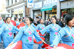 Milan,milano,chinese new year'eve Royalty Free Stock Photo