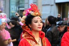 Milan,milano,chinese new year'eve Royalty Free Stock Photo