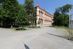 Milan,milano expo2015 pubblic gardes Stock Image