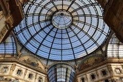 Milan,milano galleria vittorio eamanuele II dome Royalty Free Stock Image
