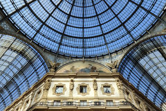 Milan,milano galleria vittorio eamanuele II dome Royalty Free Stock Photography
