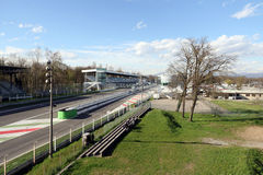 Milan,milano monza circuit starting straight Stock Photos