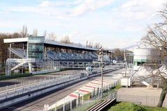 Milan,milano monza circuit starting straight Royalty Free Stock Photo