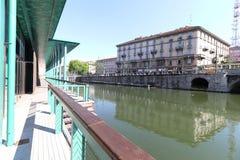 Milan,milano the navigli district Stock Image