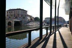 Milan,milano the navigli district Stock Photography