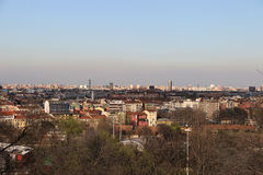 Milan,milano north skyline view Royalty Free Stock Photography