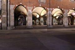 Milan,milano,the Palazzo della ragione Stock Photos