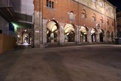 Milan,milano,the Palazzo della ragione Stock Image