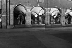 Milan,milano,palazzo della ragione and the old market square Stock Image