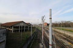 Milan,milano railway junction Royalty Free Stock Photos