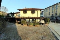Milan,milano,Vicolo Dei Lavandai Royalty Free Stock Images