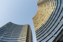 Milan, modern buildings Stock Image