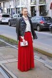 Milan modevecka Arkivbilder