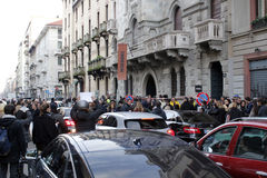 Milan modevecka Royaltyfri Foto