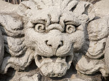 Milan - monster face from Sforza castle Royalty Free Stock Images