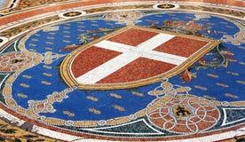 milan mozaika Fotografia Stock