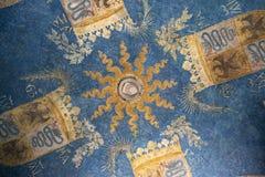 Milan, Italy, Europe, Sforza Castle, Castello Sforzesco, Museum of ancient art, Museo d`arte antica, artwork. Milan, Museum of ancient art, Sforza Castle: the stock image