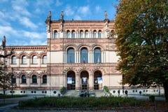 Milan Natural History Museum in Milan, Italy stock photo