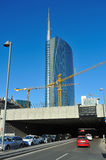 Milan new skyscraper under construction Royalty Free Stock Images
