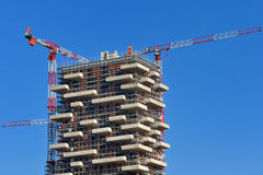 Milan new skyscraper under construction Royalty Free Stock Photo