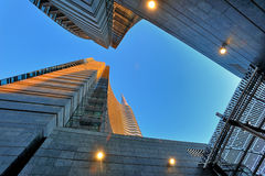 Milan new skyscraper - Unicredit bank office Royalty Free Stock Image